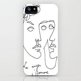 Jean Cocteau Homme  iPhone Case
