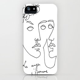 Jean Cocteau Homme  iPhone Case