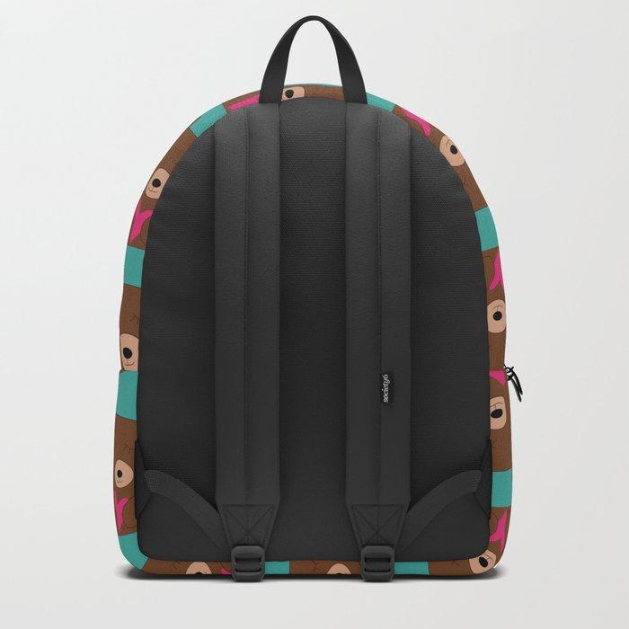 Bear in love Teal Backpack
