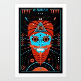 TAROT. I- Le Bateleur Art Print