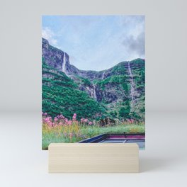 View from a (Norwegian) Rooftop Mini Art Print