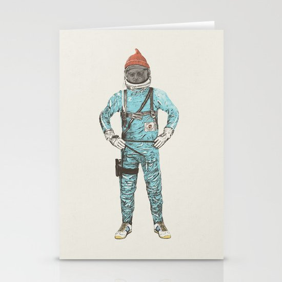 Zissou In Space Stationery Cards