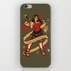 Annie get your Gun iPhone & iPod Skin