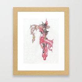 Eilonwy the Blackknight Framed Art Print
