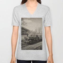 Dart Valley Steam  Unisex V-Neck