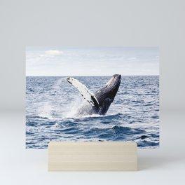 Humpback Whale Ocean Mini Art Print