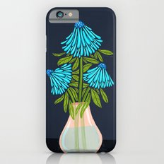 Blue Echinacea iPhone 6s Slim Case