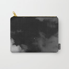 Italian Monochrome Moon Carry-All Pouch