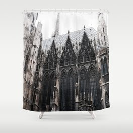 St. Stephen's cathedral Shower Curtain