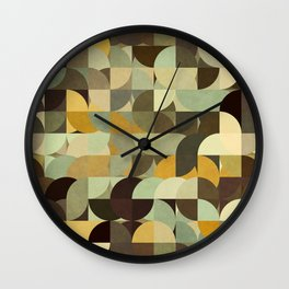Retrograde 3 Wall Clock
