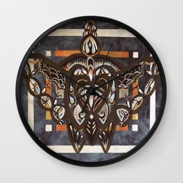 Insect pattern Wall Clock