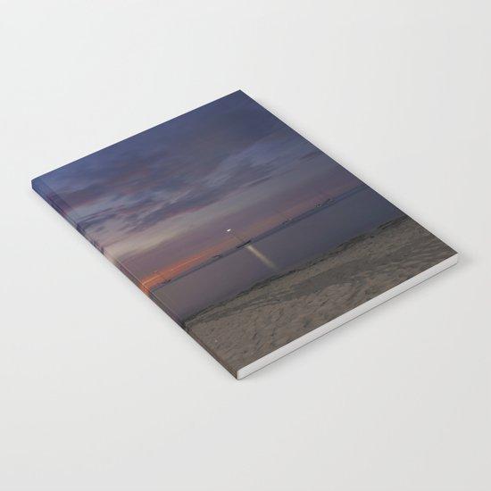 Front Beach After sunset Notebook