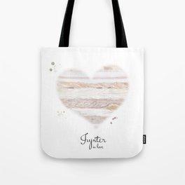 Jupiter in love Tote Bag