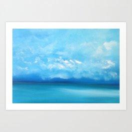 Forever Seas Art Print