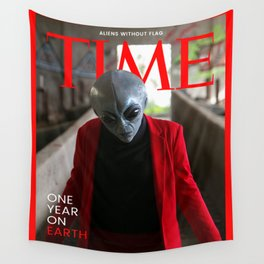 Alien. Time magazine Wall Tapestry