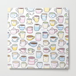 Tea Time! Metal Print