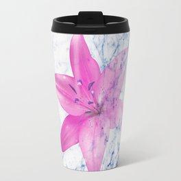 marble print 1 Travel Mug