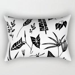Botanic poster Rectangular Pillow
