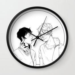 Kit & Ty Wall Clock
