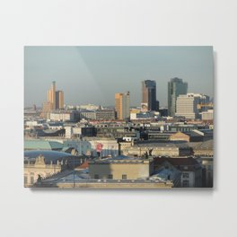 View from above, Potsdamer Platz - Berlin Metal Print