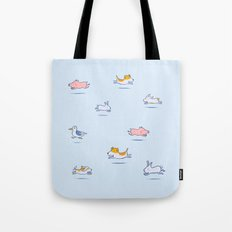Run Run Run doggy! Tote Bag