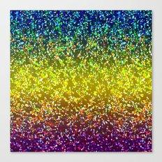 Glitter Graphic Background G107 Canvas Print