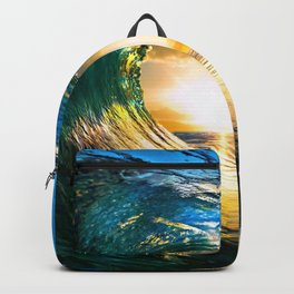 Glowing Wave Backpack