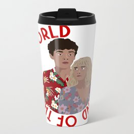 The ENd Of The F***ing World Metal Travel Mug
