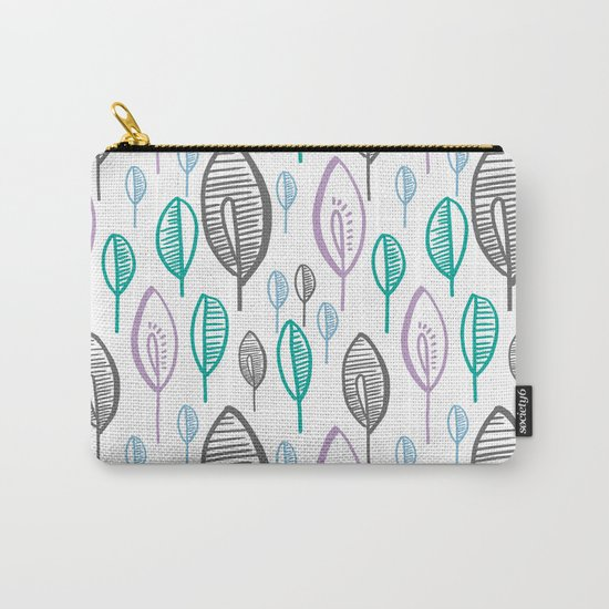 LEAFS PATTERN Carry-All Pouch
