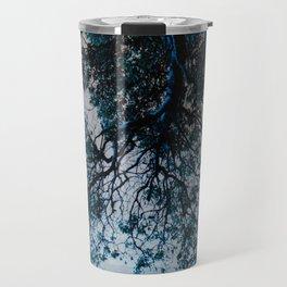 Blue Overhang Travel Mug