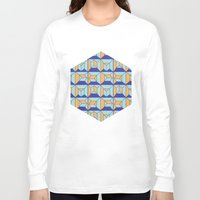 code Long Sleeve T-shirts featuring Coatl Code by Pamku