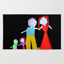 Dance me to the end of love | Kids Painting by Elisavet Rug