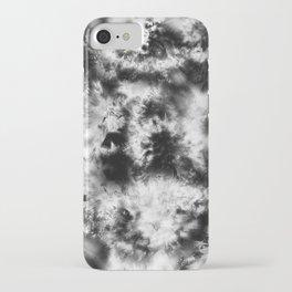 Black and White Tie Dye & Batik iPhone Case