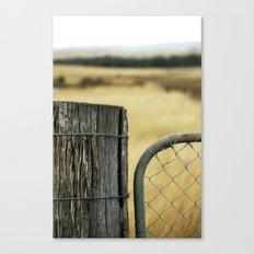 Summer Gate Canvas Print