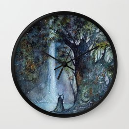 The Forest King Wall Clock