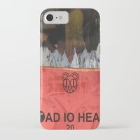 radiohead iPhone & iPod Cases featuring Radiohead 20 by W. Keith Patrick