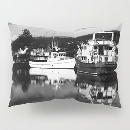 Boats on the Canal Pillow Sham