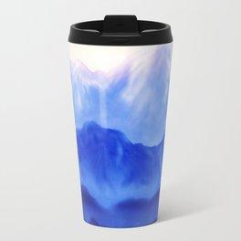 Blue landscape Travel Mug