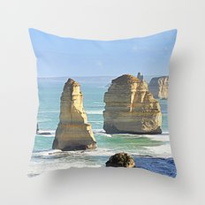 Earth's Evolution Throw Pillow