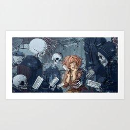 After Life Express Art Print