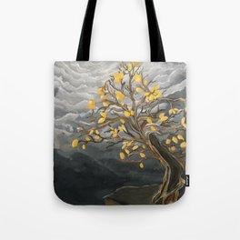Yellow Dancer Tote Bag