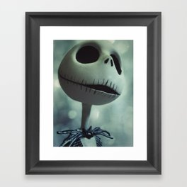 Jack Skellington (Nightmare Before Christmas) Framed Art Print