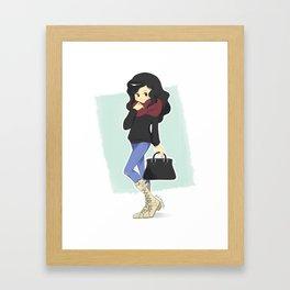 Street Style 01 Framed Art Print