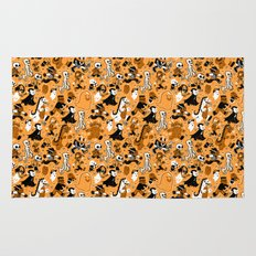 Monster March (Orange) Rug
