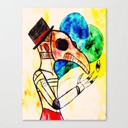 Soul show Canvas Print