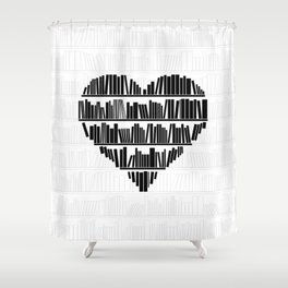 Book Lover II Shower Curtain