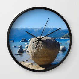 The Organic Placement of Nature Wall Clock