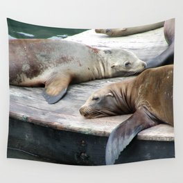 Sea Lions Wall Tapestry