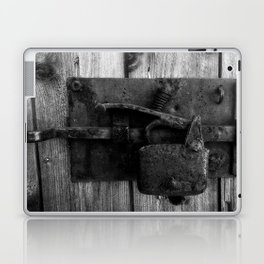 Vintage lock Laptop & iPad Skin