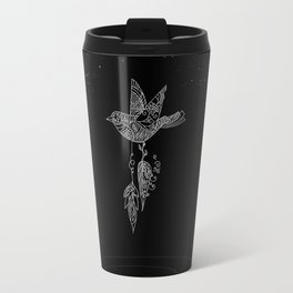 Free as a Bird - Surreal,fantasy,doodle art - Pop Culture Travel Mug